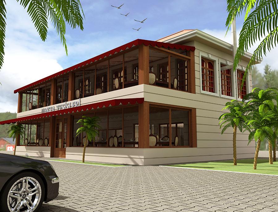 Nokta Restaurant Mimari Proje Tasarım